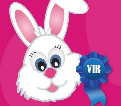 VIB Breakfast with Sonny the Bunny: April 13