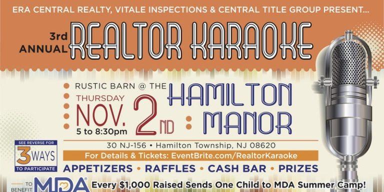3rd Annual Realtor Karaoke: November 2