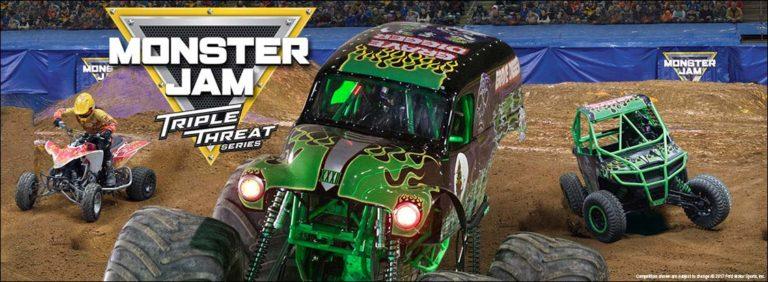 Monster Jam Triple Threat Series: January 27-28