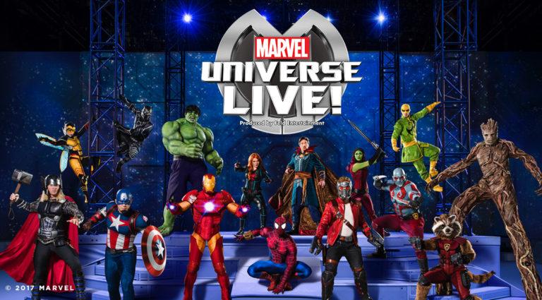 Marvel Universe Live: March 15-18