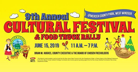 9th Annual Cultural Festival & Food Truck Rally: June 15