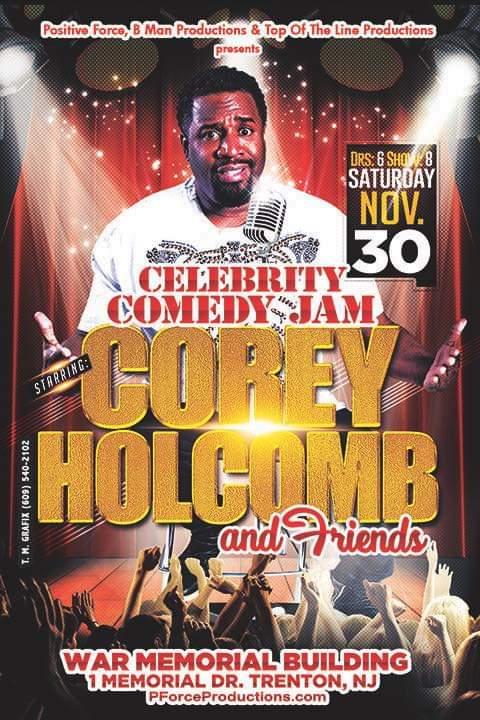 Celebrity Comedy Jam: November 30