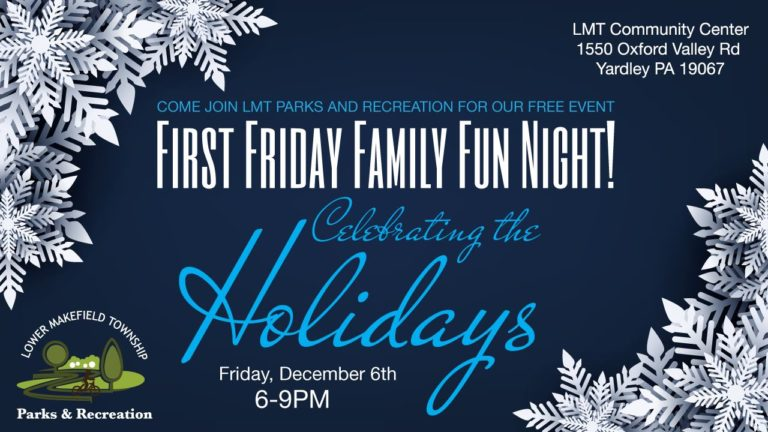 Holiday Family Fun Night: Dec 6