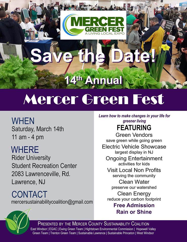 Mercer Green Fest: March 14